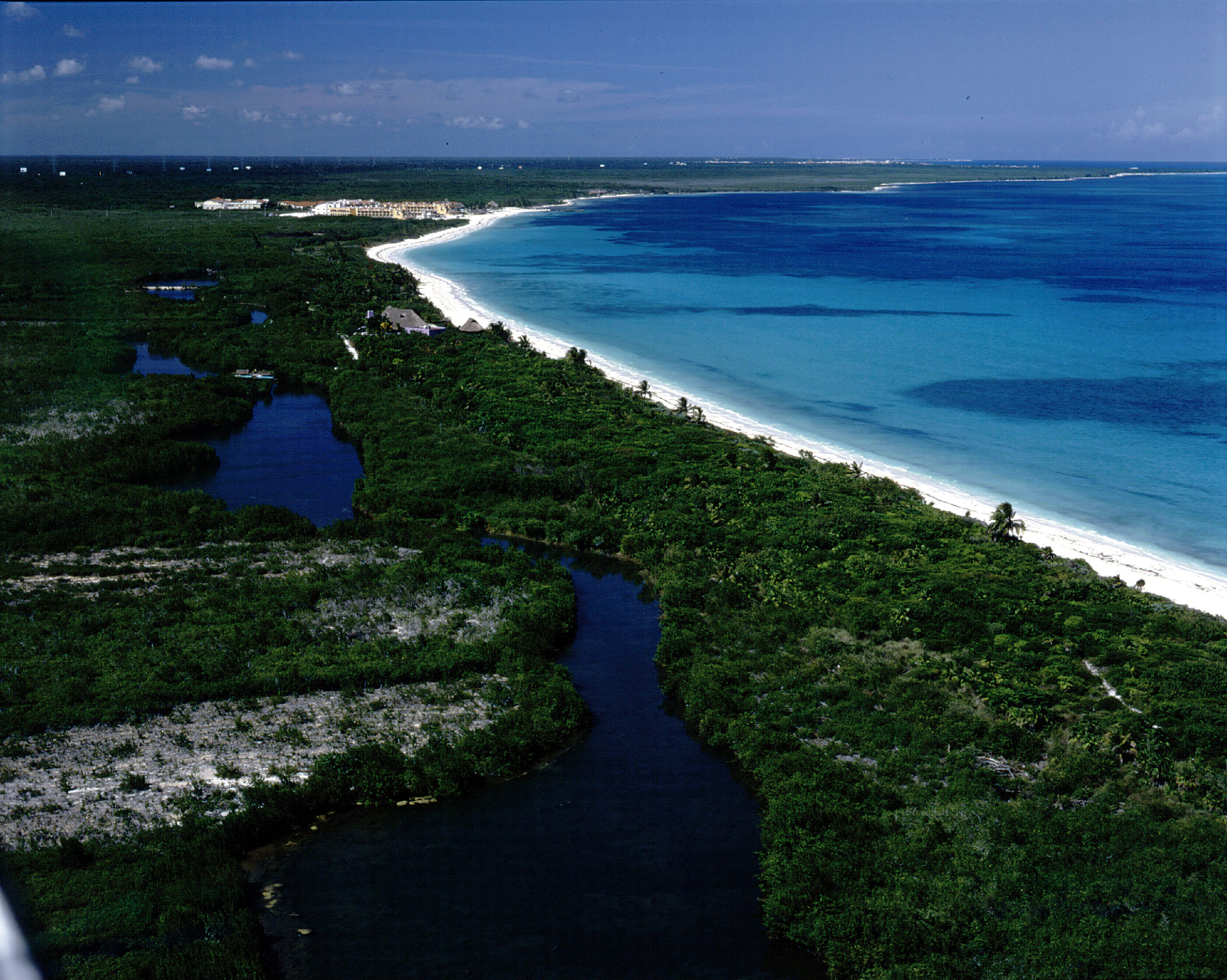 120 Hectares Across from Xcaret Parcela 280