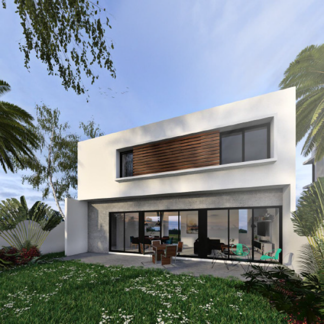 Beautiful two-bedroom house, Arcos de Bambu, presale prices!