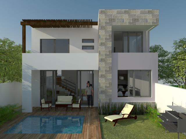 Beautiful 3 Bedroom House with a Studio in Bosques de Bambu – Home