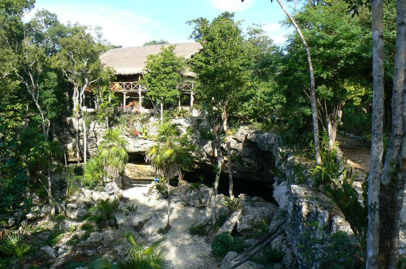 Amazing Cenote with a house and 10 acres