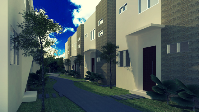 One Bedroom Home, Two Story's, in the Community of El Cielo