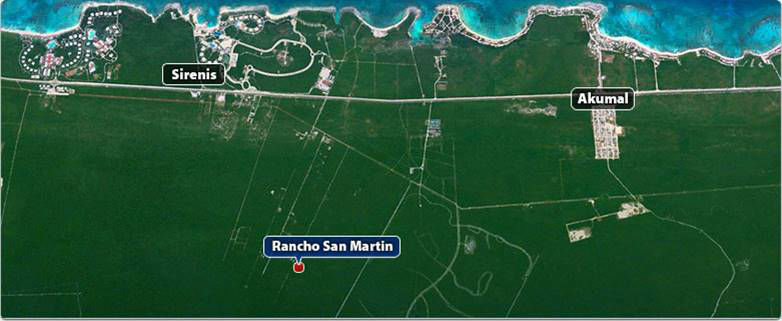 RANCHO SAN MARTIN,(Land for Sale) Carretera Federal Cancún-Tulum, Suite 10