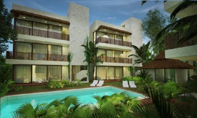 Ground Floor Condos/ 2 Bedrooms in Tulum – Condo