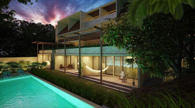 Two-floor penthouse with 2 bedrooms and private swimming pool – Condo